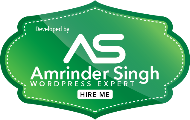 Amrinder Singh Upwork Wordpress Developer
