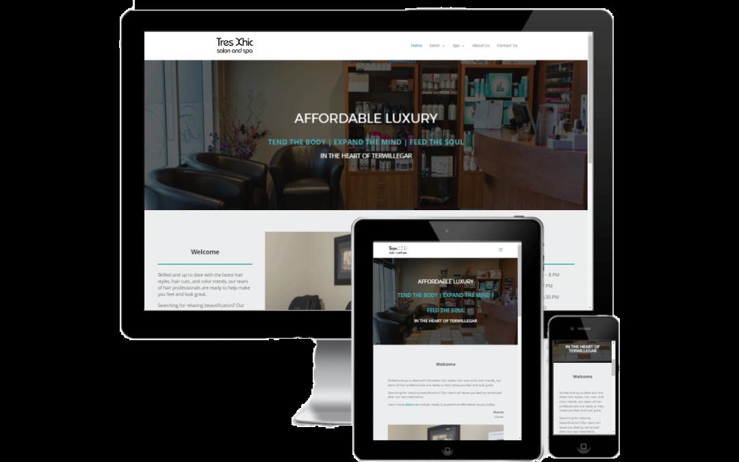 TxSalon Spa Website